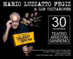 """Rinviata la data del 30 novembre dello spettacolo """"Io odio i talent show"""" di Mario Luzzatto Fegiz"""
