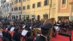 Omaggio al Cinema, a Piazza San Lorenzo in Lucina il concerto della banda della Polizia di Stato