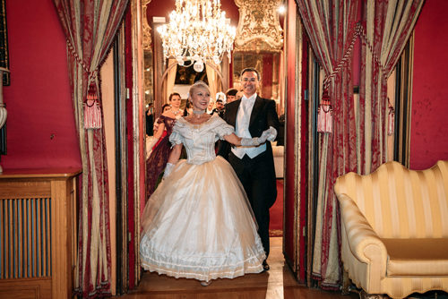 Gran Ballo di Natale alla Pinacoteca del Tesoriere di Roma