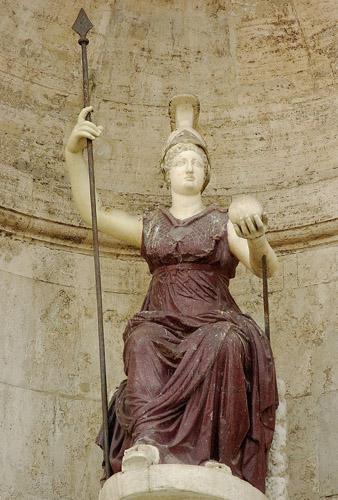 Atena-Minerva: la dea dagli occhi scintillanti