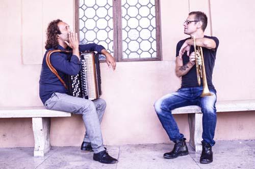 """Fabrizio Bosso & Luciano Biondini in concerto Teatro Vascello """"Flautissimo"""" di Roma"""