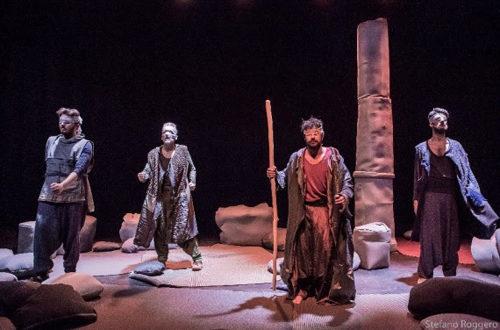 Diopluto di Jurij Ferrini tratto dal Pluto di Aristofane al Teatro Vittoria di Roma dal 20 novembre al 2 dicembre