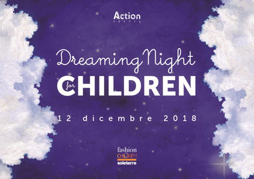 """SOLETERRE: al via l'asta dei sogni """"Dreaming night for children"""", in palio speciali experience"""