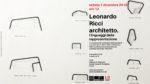 Leonardo Ricci architetto. I linguaggi della rappresentazione, la mostra presso lo CSAC di Parma