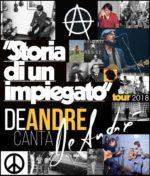 "De André canta De André, al via il tour ""Storia di un impiegato"""