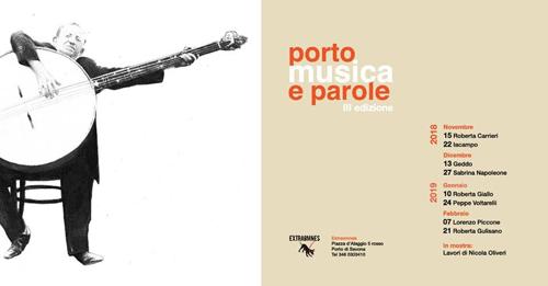 Torna Porto musica e Parole alla sua terza edizione