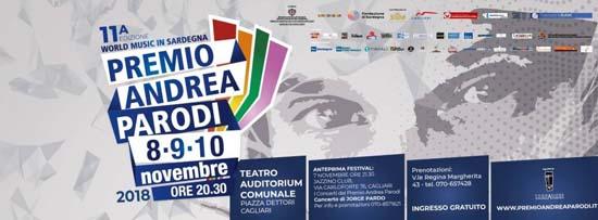 Tre giorni di grande world music: al via giovedì prossimo il Premio Andrea Parodi 2018