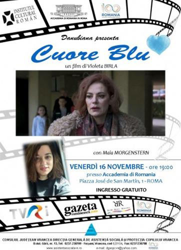 L'attrice romena Maia Morgenstern in dialogo con la comunità romena di Roma in occasione del centenario della Grande Unione