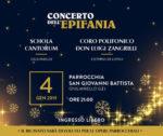 """Concerto dell'Epifania dei cori polifonici """"Schola Cantorum"""" e """"Luigi Zangrilli"""""""