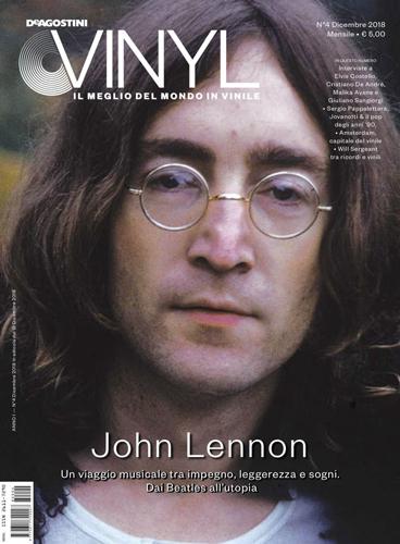 De Agostini Vinyl, in edicola il numero di dicembre del magazine, con un'esclusiva cover story dedicata a John Lennon!