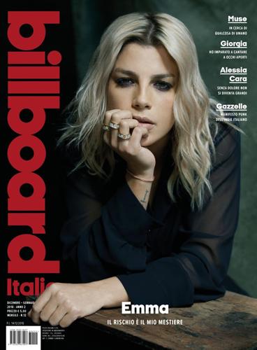 EMMA la protagonista della cover story di Billboard Italia, in edicola