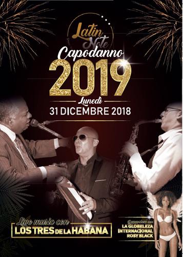 Il locale Latin Note di Milano festeggia il Capodanno 2019 con un'atmosfera tutta cubana