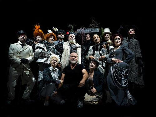 Lello Arena in Miseria e nobiltà al Teatro Traiano di Civitavecchia