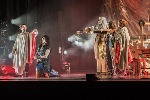 """OBLIVION """"La Bibbia riveduta e scorretta"""" dal 26 dicembre al teatro Quirino di Roma"""