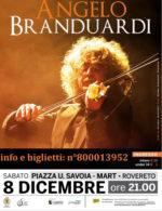 """Rovereto, concertone dell'Immacolata con Angelo Branduardi: parte dell'incasso a favore di """"Calamità Trentino 2018"""""""
