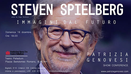 Steven Spielberg, immagini dal futuro di Patrizia Genovesi al Teatro Palladium di Roma