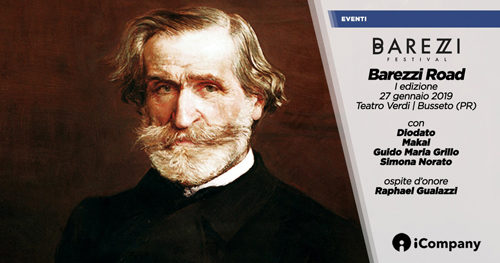 A gennaio la prima edizione di Barezzi Road, una rilettura contemporanea di Verdi