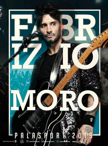 Fabrizio Moro live nel 2019 con 4 appuntamenti nei palasport