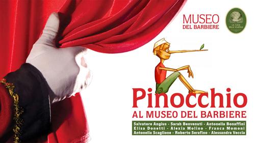 Pinocchio al Museo del Barbiere di Roma!