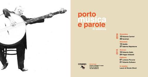 A Porto Musica e Parole arriva il Peppe Voltarelli