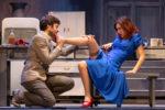 Gabriella Pession e Lino Guanciale in After Miss Julie al Teatro Traiano di Civitavecchia