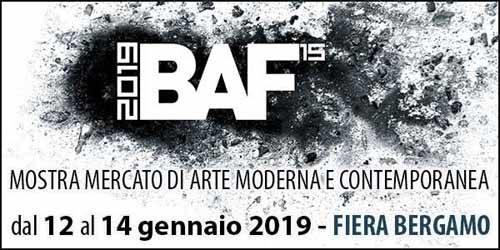 Al via a Bergamo le edizioni 2019 di IFA e BAF. Due appuntamenti dedicati all'Alto Antiquariato, dell'Arte Antica italiana e dell'Arte Moderna e Contemporanea