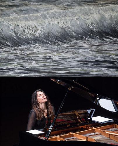 Antonija Pacek in concerto all'Auditorium Parco della Musica di Roma