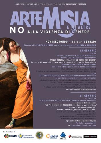 """Seminario di Formazione """"Artemisia e le altre: No alla violenza di genere"""", Monterotondo"""
