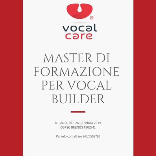 Master di formazione per Vocal Builder a cura della Vocal Coach Danila Satragno alla Casa della Musica di Milano