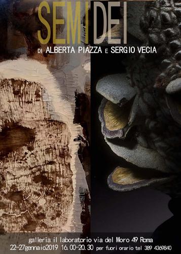 SEMIdei, la mostra di Alberta Piazza e Sergio Vecia alla Galleria Il Laboratorio di Roma