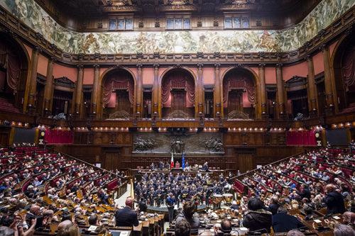"""""""Giornata nazionale della Bandiera"""", grande partecipazione al Concerto celebrativo organizzato dall'ANCRI a Montecitorio"""