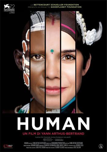 Human di Yann Arthus Bertrand alla Ex Lavanderia di Roma i tre episodi 25 gennaio 8 e 22 febbraio