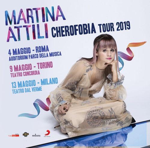 Martina Attili, il 4 maggio parte il tour dall'Auditorium Parco della Musica di Roma
