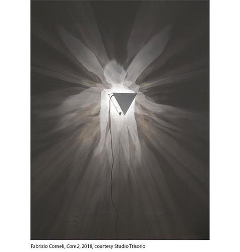 Le opere di Fabrizio Corneli in mostra allo Studio Trisorio di Napoli