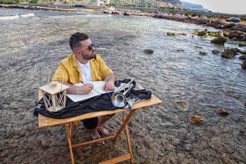 Giacomo Tantillo presenta live Water Trumpet Casa del Jazz di Roma