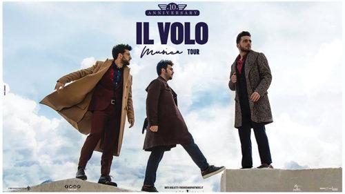 Aperte le prevendite per le date del tour in Italia de IL VOLO