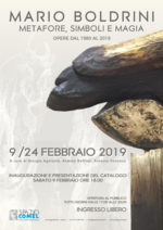 Metafore, simboli e magia, la personale di Mario Boldrini allo Spazio COMEL Arte Contemporanea di Latina