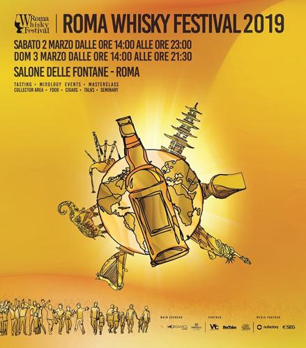 Roma Whisky Festival, al via l'ottava edizione