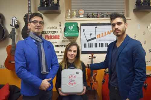 William School Music … la scuola di musica CARDIOPROTETTA!