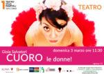 """""""CUORO – Le donne!"""" di e con Gioia Salvatori al Teatro Villa Pamphilj di Roma"""