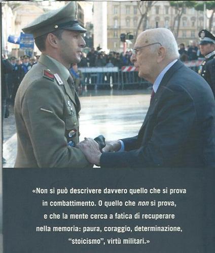 Andrea Adorno racconta la Medaglia d'Oro al Valor Militare. In una conferenza la storia dell'Alpino-eroe ancora in servizio