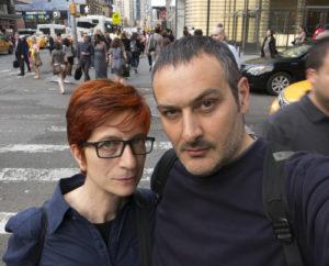 Il duo Bianco-Valente a i giovedì colorati #1. Incontri con l'arte contemporanea