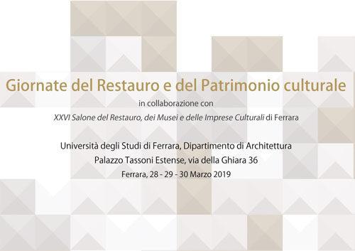 """Al via il conto alla rovescia per l'appuntamento con le """"Giornate del Restauro e del Patrimonio Culturale"""" a Palazzo Tassoni Estense di Ferrara"""