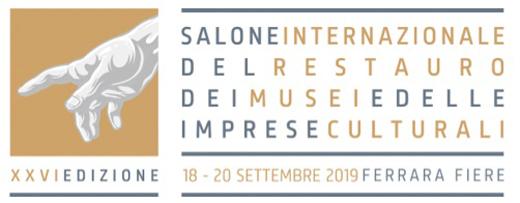 Il Salone del Restauro nel segno del rinnovo e delle novità. Al via la XXVI edizione a Ferrara Fiere dal 18 al 20 settembre 2019