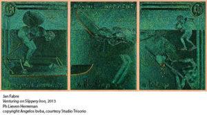 Jan Fabre omaggio a Hieronymus Bosch in Congo allo Studio Trisorio di Napoli