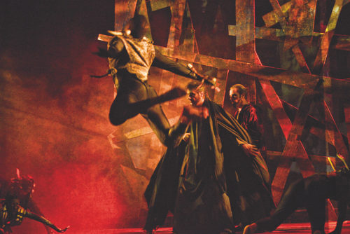 La Divina Commedia Opera Musical di Gianmario Pagano e Andrea Ortis al Teatro Brancaccio di Roma