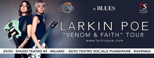 Corsa ai biglietti per i concerti delle Larkin Poe in Italia a marzo 2019