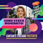 """Matteo Markus Bok: nominato come """"cantante italiano preferito"""" per i Kids' Choice Awards, si continua a votare sul sito e su twitter"""