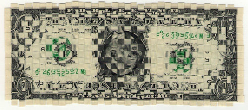 One hundred bucks and few cents, la mostra di Piotr Hanzelewicz alla Galleria Rosso20sette arte contemporanea di Roma