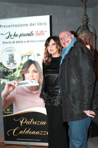 """Presentato a Roma """"Le ho provate tutte""""! Il primo libro di Patrizia Caldonazzo"""